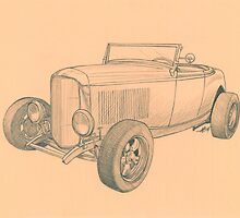 32 Ford by Anthony Billings