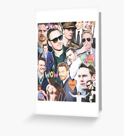 too fassy for you Greeting Card