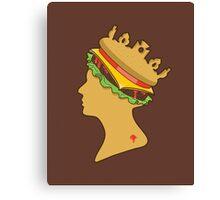 Burger Queen Canvas Print