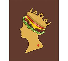 Burger Queen Photographic Print