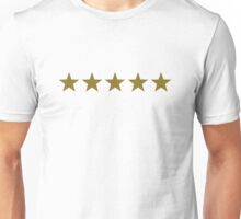 FIVE STARS, Gold, Winner, Best, Hero, Chef, Team, Award, 5 Unisex T-Shirt