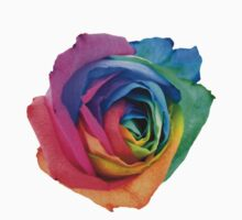 Rainbow Rose 01 T-Shirt