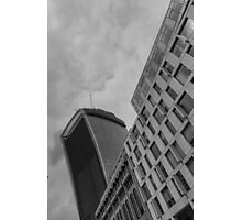 Walkie Talkie London Photographic Print