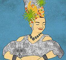 Carmen Miranda by Janet Carlson