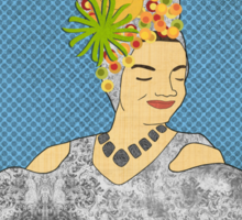 Carmen Miranda Sticker