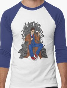 Throne of Time Men's Baseball ¾ T-Shirt