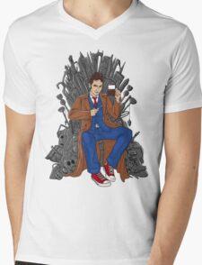 Throne of Time Mens V-Neck T-Shirt