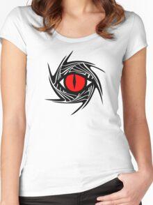 DRAGON EYE, Magic, Mystical, Fantasy Women's Fitted Scoop T-Shirt