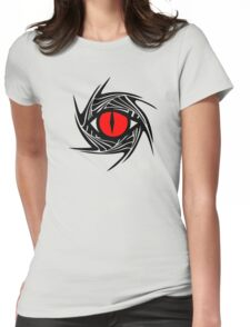 DRAGON EYE, Magic, Mystical, Fantasy Womens Fitted T-Shirt