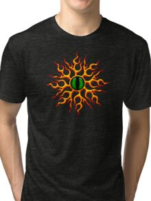 DRAGON EYE, Magic, Mystic, Fantasy Tri-blend T-Shirt