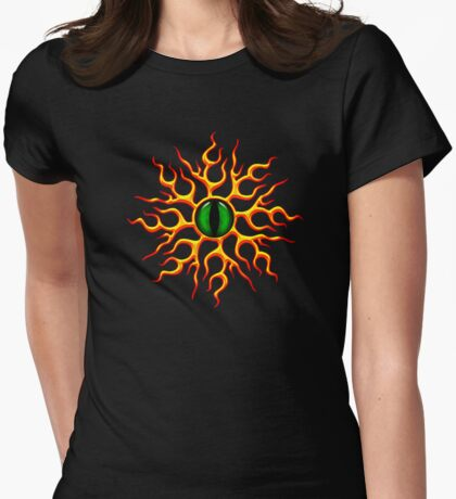 DRAGON EYE, Magic, Mystic, Fantasy Womens Fitted T-Shirt