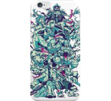 Nuclear Zombie Ninja Turtles iPhone Case/Skin