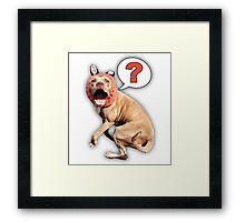 Murphyfox Say What? Framed Print