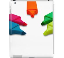 Highlighter Marker Pens iPad Case/Skin