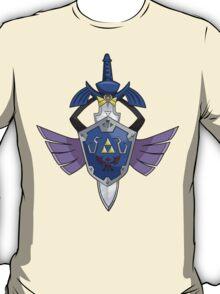 Master Sword - Hylian Shield Aegislash T-Shirt