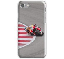 Dani Pedrosa at Circuit Of The Americas 2014 iPhone Case/Skin