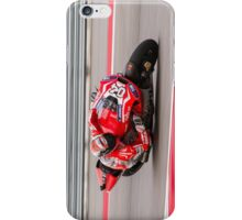 Andrea Dovizioso at Circuit Of The Americas 2014 iPhone Case/Skin