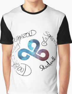 CS:GO Signed by Cloud9 CSGO Team Graphic T-Shirt