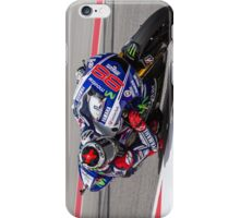 Jorge Lorenzo at Circuit Of The Americas 2014 iPhone Case/Skin