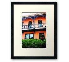 The French Quarter, Charleston Framed Print