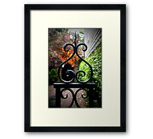 Iron Gate Framed Print