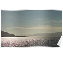 Sunset over Loch Linnhe Poster