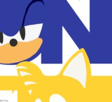 Sonic & Tails Sticker