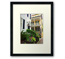 Sidestreet View Framed Print