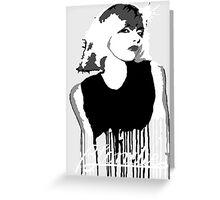 Blondie Greeting Card