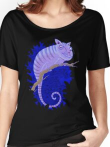 Cheshire Cat Chameleon Women's Relaxed Fit T-Shirt