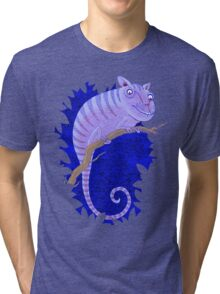 Cheshire Cat Chameleon Tri-blend T-Shirt