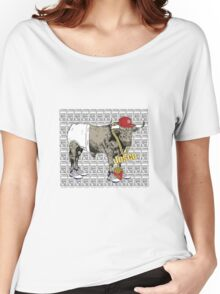 Latino Bull with Jordans Women's Relaxed Fit T-Shirt