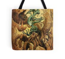 The Crackling Husk Tote Bag