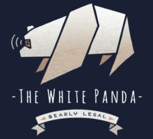 Bearly Legal-The White Panda by t0tallyrad