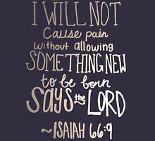 Isaiah 66:9 Mens V-Neck T-Shirt