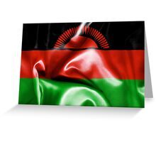 Malawi Flag Greeting Card