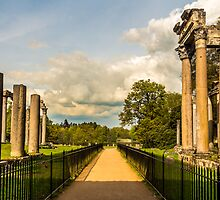 The Ruins at Virginia Water by LacoHubaty