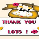 Thank you card by IrisGelbart
