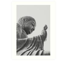 Tian Tan Buddha Art Print