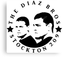 The Diaz Brothers Canvas Print