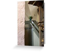 flower pulpit Greeting Card