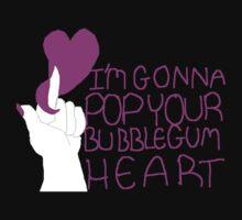 I'm Gonna Pop Your Bubblegum Heart by duckiedodraw