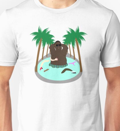 Notorious B.I.G 'Swimmin in ya women' Unisex T-Shirt