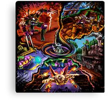 TMNT Shell Shocked- In Time Canvas Print