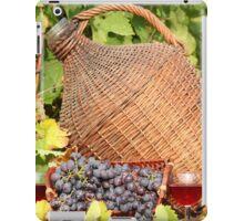 red wine autumn scene iPad Case/Skin