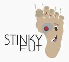 Stinky Fut Logo-Cyborg Kids Clothes