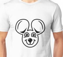 mouse funny friendly Unisex T-Shirt