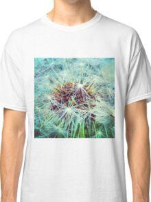 Dandelion Turquoise Classic T-Shirt