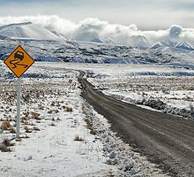Majestic Peaks via a Tricky Road by Peter Kurdulija