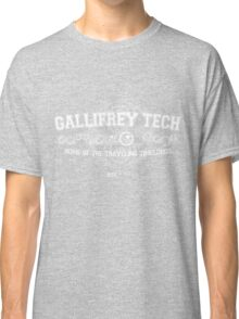 Gallifrey Tech - College Wear 02 Classic T-Shirt